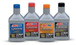 AMSOIL Premium 100% Synthetic European Vehicle Oil