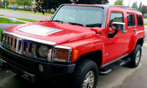 Hummer H3 Red For Sale(certified?