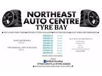 TYRE BAY, JARROW, NORTHEAST AUTO CENTRE