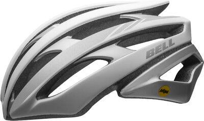 Bell Bike Helmet Adult Cycling Slant White//Silver Visor Free Shipping NEW!