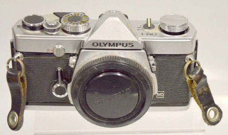 Olympus OM-1 35mm SLR Camera Body -Silver/Black