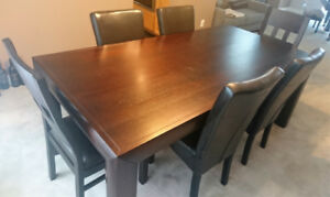 Dining Table + End Chairs + Buffet/Server (Set/Separate, $160up)