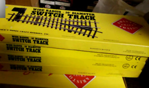 Aristocraft and USA TRAINS track and switchers