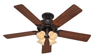 "Hunter ""The State Street"" QuietBreeze 52"" Ceiling Fan"