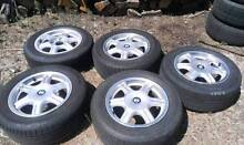 """5x 15"""" BMW Alloys with tyres New Norfolk Derwent Valley Preview"""