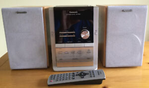 Panasonic CD, Tape Deck, Tuner Mini Stereo System