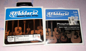 cordes de guitare strings Dadario neuves lutrin