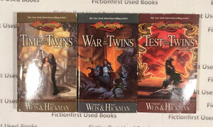 """Dragonlance: Legends"" by: Margaret Weis & Tracy Hickman"
