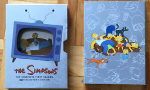 DVD THE SIMPSONS  The complete FIRST SEASON .