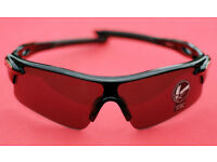 Black Sport Sunglasses Womens Mens for Cycling or Beach New and Unused