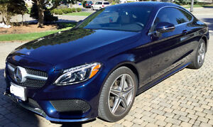 Lease Takeover 2017 Mercedes-Benz C300 Coupe 4Matic