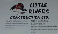 Skidsteer services and landscaping. Good rates.