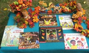 Primary Reading Books Fall, Autumn, and Leaves Theme