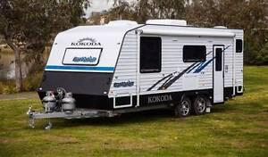 2016 KOKODA BATTALION FAMILY BUNK CARAVAN, SEPARATE TOILET/SHOWER Melrose Park Mitcham Area Preview