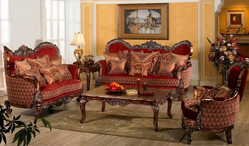 New Reproduction Antique Sofa Sets