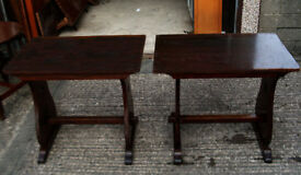 TEN SOLID WOOD VINTAGE 1970s PUB TABLES: MICROPUB, BAR, CLUB, RESTAURANT, PUB SHED MAN CAVE HOME BAR