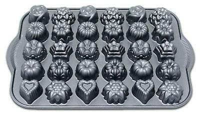 Nordicware Bundt TEA CAKES & CANDIES PAN *30 Mini Candy Molds SUNFLOWERS Hearts Nordic Ware Candy