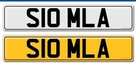 Selection of number plates / registrations