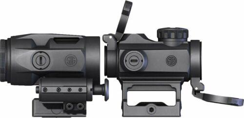 Sig Sauer Romeo-MSR Red Dot Sight 2 MOA W/ Juliet 3 Micro Magnifier SORJ72001
