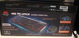 Kane Pro Edition Gaming Keyboard and Mouse