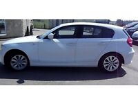 Bmw white 116i 2.0 petrol 5 door breaking for spares