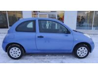 Nissan Micra S (2005) Low Mileage Car