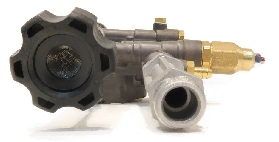 Pump Head with Thermal Relief Valve for many Devilbiss Washer Sprayer SRMW2.4G28