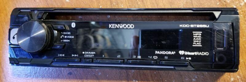 KENWOOD KDC-BT265U FACEPLATE
