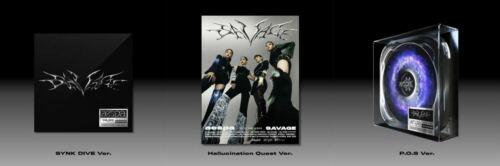 AESPA [Savage] 1st Mini Album Hallucination Quest/P.O.S/SYNK DIVE Ver CD+Poster
