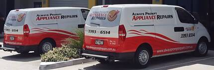Always Prompt Appliance Repairs - Brisbane Wide