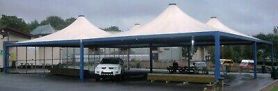Sturdy/Heavy-Duty Garage/Car-Wash/Carport/School CANOPY / GAZEBO/ MARQUEE/ SHADE for sale  Shipping to South Africa