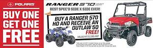 Polaris Ranger 570cc HD UTV - 1K free accessories or Free Outlaw Fulham West Torrens Area Preview