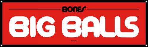 Powell Peralta Bones Brigade Bearings Skateboards BIG BALLS Vinyl BANNER NEW