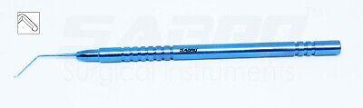 Titanium Phaco Chopper 1.25mm Tip Ophthalmic Eye Surgical Instrument