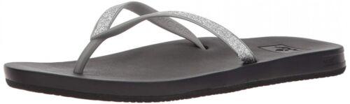 Reef Womens Sandals Stargazer | Glitter Flip Flops for Women
