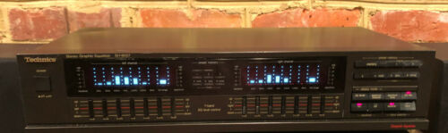 Vintage Technics SH-8057 7 Band Stereo Graphic Equalizer EQ Tested & Working