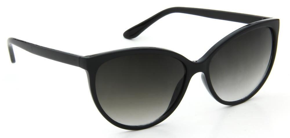 Black Cat Eye Sunglasses Classic Designer Women Retro Fashion