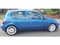 Renault Clio 2005 Extreme in metalic blue taxed/mot VGC