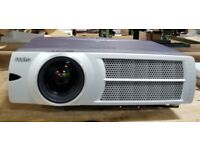 Sanyo Pro X Multiverse Projector WITH WALL MOUNTED SCREEN BARGAIN 50 POUND
