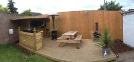 Fencing ,Decking,Gates,Garden bars etc free quotes and will beat any other quotes given