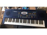 Roland EM10 Keyboard 61 keys velocity sensitive with quality voices near mint