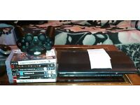 Ps3 slim 12gig 6games 2yr reciept £45 or swap for Xbox 360