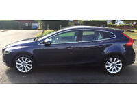 Excellent condition: Volvo V40 2.0 D3 SE Lux Nav Geartronic 5dr, Full Volvo Service History