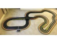 Scalextric Digital Large Layout with Bridge / Hairpin & 2 Cars