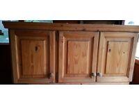 Solid Pine Kitchen Units