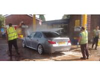Hand Car Wash To Let In Warrington £1000 per Month