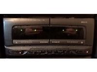 Kenwood X-722 Dual Cassette deck unit