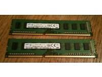4Gb DDR3-1600 (2x2Gb) DIMM (PC3-12800) RAM