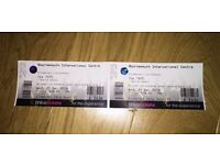 The 1975 LIVE - 2 Tickets