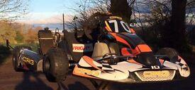 Racing Kart plus spares - full package